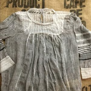 Anthropologie floreat Reina blouse small
